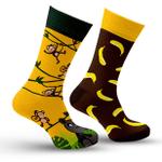 Monkey & Banana Gift For Men Women Cotton Funny Comfortable Socks