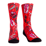 Valentine's Day - All Over Icons Comfortable Cute Funny Unique Unisex Socks