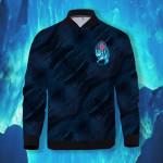 Wild Winter 3D Printed Unisex Bomber Jacket
