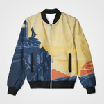 Alone In The Sunset 3D Printed Unisex Jacket