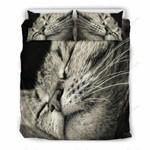 Cute Sleepy Cat 3D Bedding Set Bedroom Decor