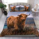 Cow Wildlife Printed Bedding Set Bedroom Decor