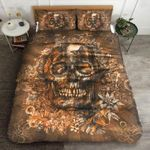 Floral Skull Day Of The Death Printed Bedding Set Bedroom Decor