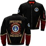 Uniforms Of The United States Air Force 3D Printed Unisex Bomber Jacket