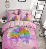 Loving Couple Parrot Printed Bedding Set Bedroom Decor