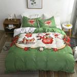 Christmas Gift Santa Claus 3D Bedding Set Bedroom Decor