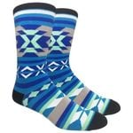 Southwest Light Blue Comfortable Cute Funny Unique Unisex Socks