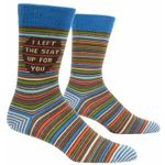 I Left The Seat Up For You Lovely Birthday Gift For Men Women Comfortable Unique Socks