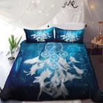 White Dreamcatcher In Magic Background Bedding Set Bedroom Decor