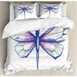 Dragonfly Peaceful World Bedding Set Bedroom Decor