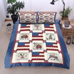 American Flag Connections Bedding Set Bedroom Decor
