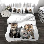 Three Cute  Cats 3D Bedding Set Bedroom Decor