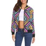 Navajo Indians Aztec Tribal Native American 3D Printed Unisex Jacket