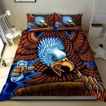 Eagle Angry Art Printed Bedding Set Bedroom Decor