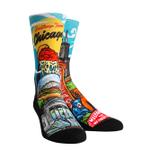 Chicago Landmark Crew Comfortable Funny Cute Unique Socks
