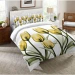 Lily Garden Printed Bedding Set Bedroom Decor