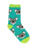 """Kid's """"Love Eucalyptus"""" Socks Lovely Birthday Gift Comfortable Unique Socks"""