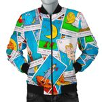 Tarot Photo Pattern 3D Printed Unisex Jacket