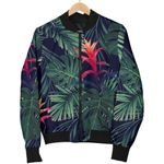 Hawaiian Palm Leaves Pattern  3D Printed Unisex Jacket