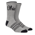 Ohio State Script Ohio Heather Knitted (Mixed) Comfortable Cute Funny Unique Unisex Socks
