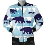Polar Bear Winter Snow Pattern 3D Printed Unisex Jacket