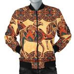 Camel Polynesian Tribal Design Pattern 3D Printed Unisex Jacket