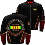 Don't Let The Gray Hair Fool You Vietnam Veteran 3D Printed Unisex Bomber Jacket