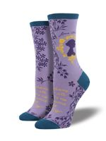 "Women's ""Jane Austen"" Socks Comfortable Funny Cute Unique Socks"