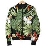 Hawaii Tropical Plants Pattern 3D Printed Unisex Jacket