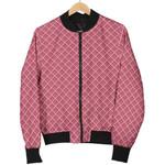 Waffle Pink Pattern 3D Printed Unisex Jacket
