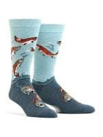 Men's Sockeye Salmon Socks Comfortable Funny Cute Unique Socks