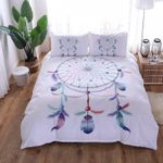 Dream Catcher Feathers Printed Bedding Set Bedroom Decor