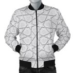 Arabic Star Pattern 3D Printed Unisex Jacket