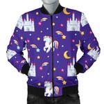 Unicorn Castle Lovely Star 3D Printed Unisex Jacket