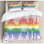 Colorful Music  Printed Bedding Set Bedroom Decor