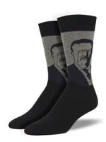 Men's Teddy Portrait Socks Comfortable Funny Cute Unique Socks