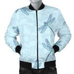 Dragonfly Art Blue 3D Printed Unisex Jacket