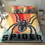 Spider Vintage Design Printed Bedding Set Bedroom Decor