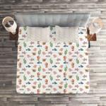 Sea Life  Printed Bedding Set Bedroom Decor