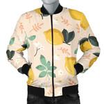 Lemon Flower Leave Pattern 3D Printed Unisex Jacket