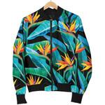 Teal Tropical Pattern  3D Printed Unisex Jacket