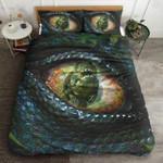 T Rex Eyes Printed Bedding Set Bedroom Decor