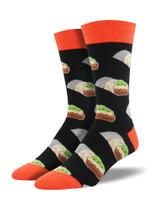 "Men's ""Burritos"" Socks Comfortable Funny Cute Unique Socks"