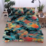 Colorful Geometric Pattern Bedding Set Bedroom Decor