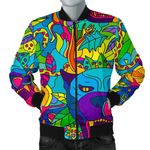 Colorful Trippy Pattern 3D Printed Unisex Jacket