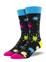 "Men's ""Paintball"" Socks Comfortable Funny Cute Unique Socks"