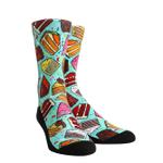 Cake Socks Gift Ideas For Men Women Funny Unique Socks