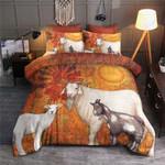 Goat The Sun Printed Bedding Set Bedroom Decor