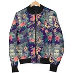 Tropical Forest Buddha 3D Printed Unisex Jacket