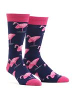 Men's Flamingo Comfortable Funny Cute Unique Socks